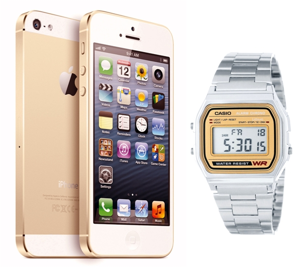 iPhone & Casio