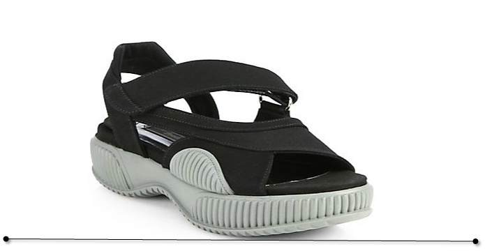 Prada sandals black SS 2014