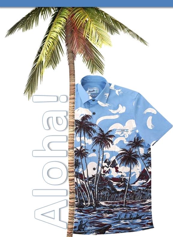 Prada Hawaiian shirt SS 2014