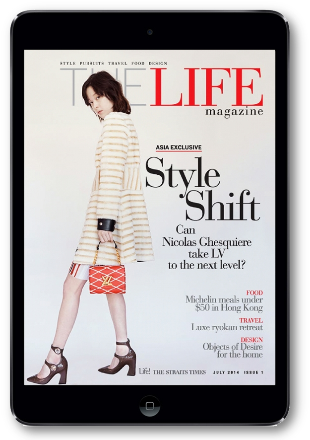 ST The Life Mag on iPad