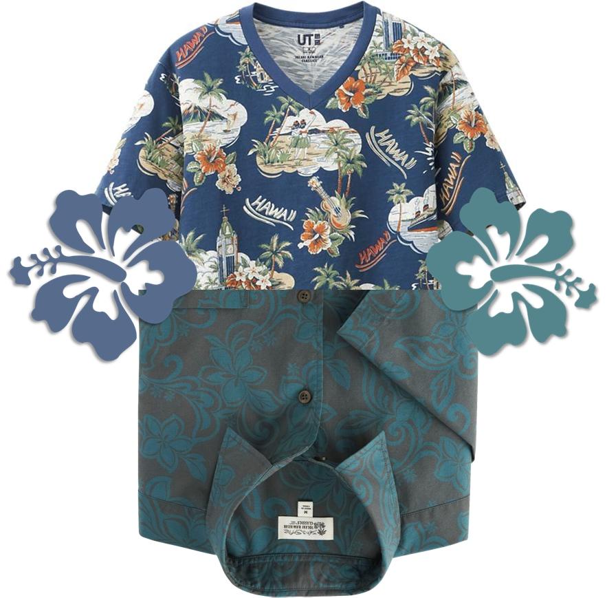 Uniqlo tee & shirt SS 2014