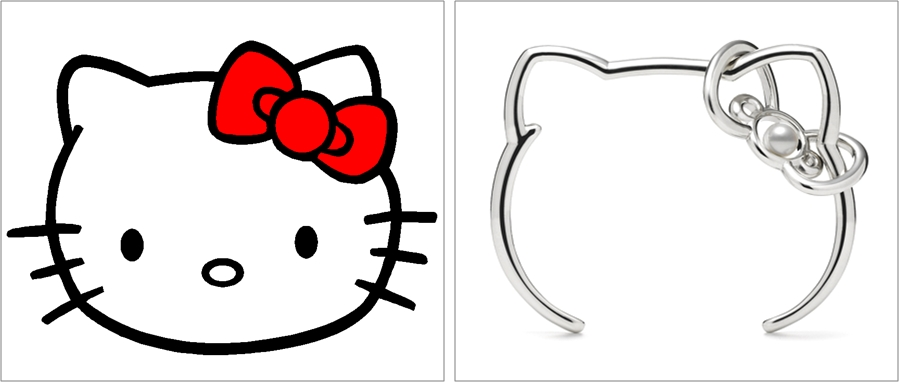 Hello Kitty & Hello Kitty