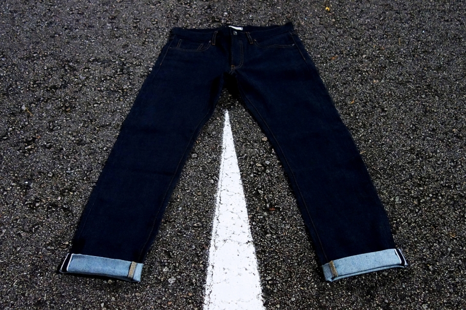 Uniqlo men's denim jeans