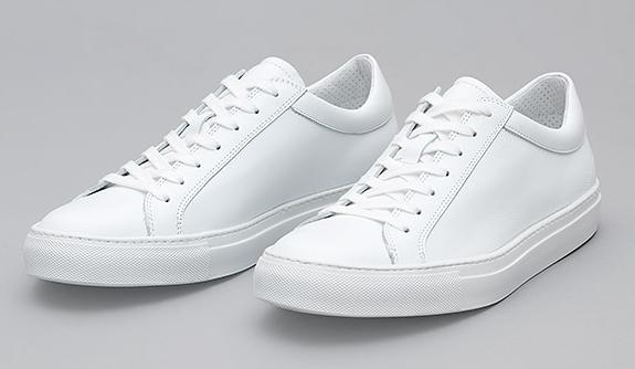 Erik Schedin leather sneakers