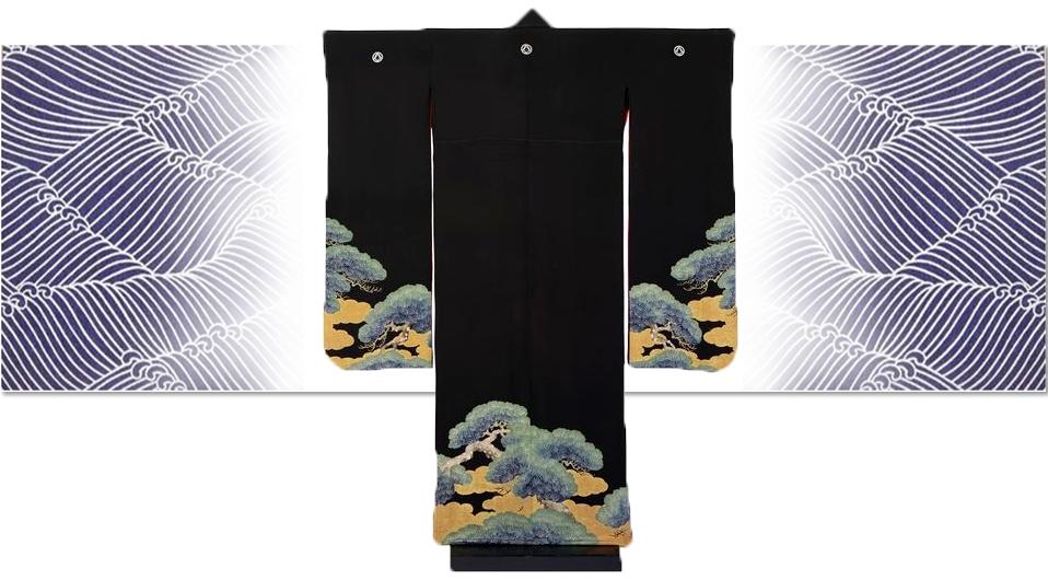 Kimono from the V&A
