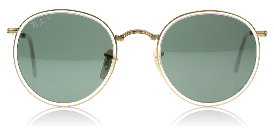 ray ban round folding classic sunglasses  ray ban round classic folding