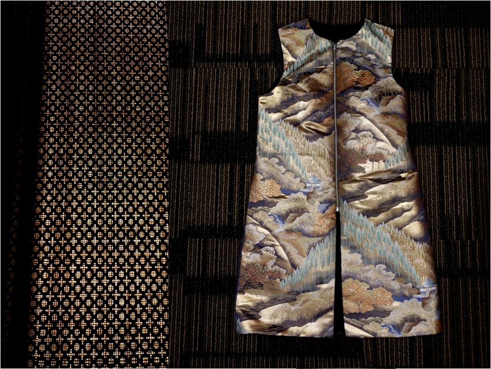 VL X Kimono Kollab long vest