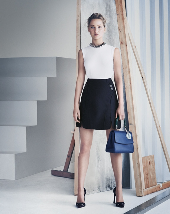 Jennifer Lawrence for Dior 2015