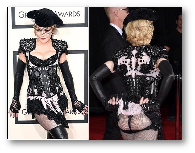 Madonna at Grammy 2015