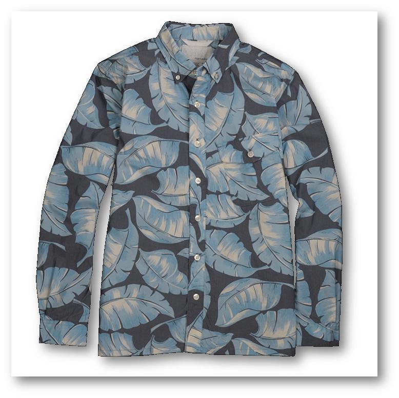 Nanamica printed shirt SS 2015