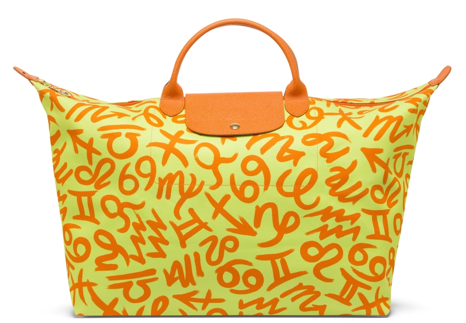 Longchamp X Jeremy Scott Le Pliage