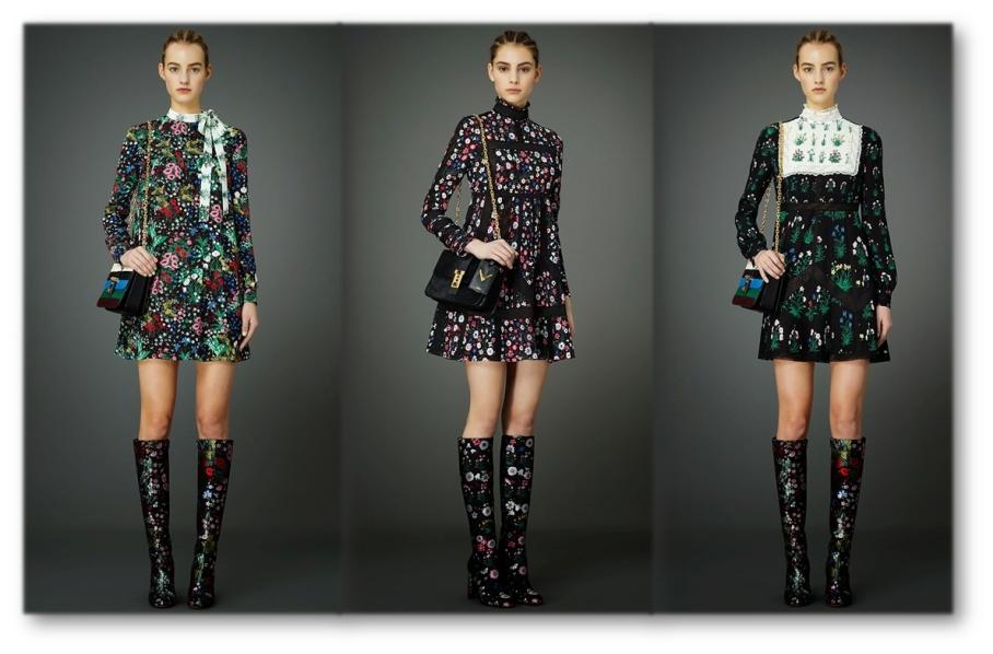 Valentino mini-dresses Pre-fall 2015