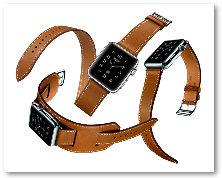 Apple Watch Hermes with diff straps