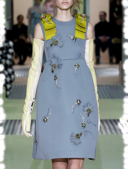Prada bow dress