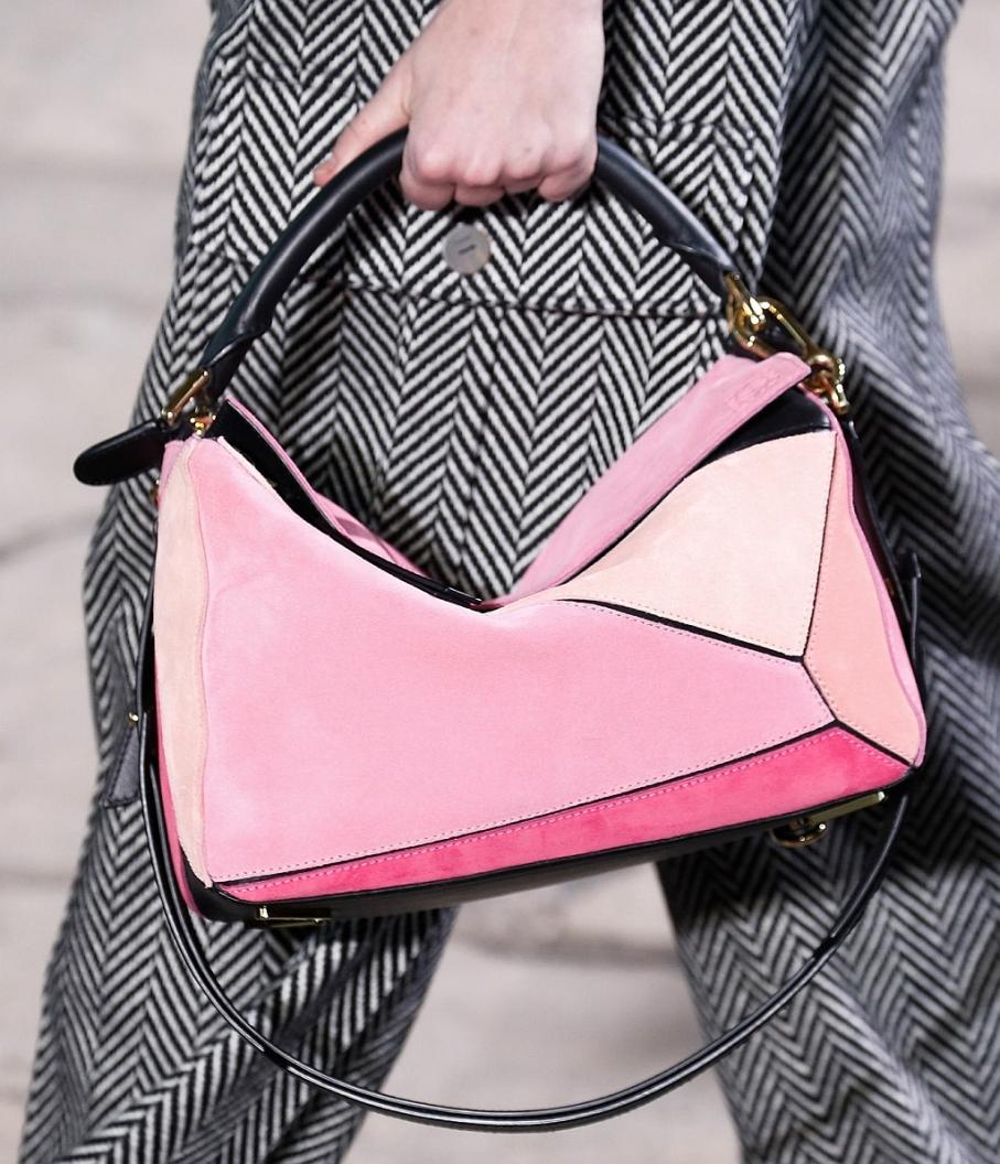 Loewe Puzzle bag AW 2015 pink