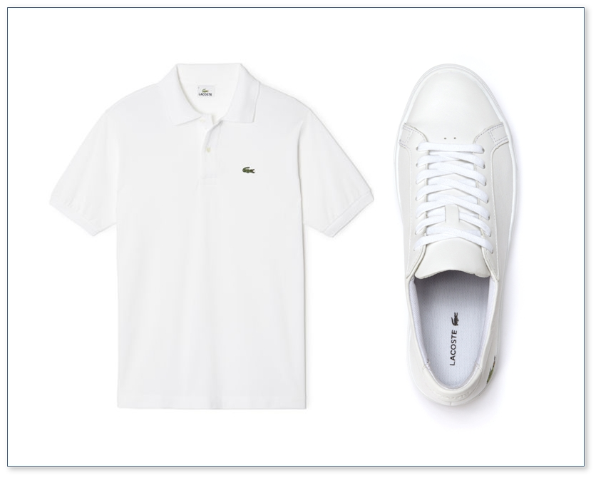 L 12 12 shirt and shoe