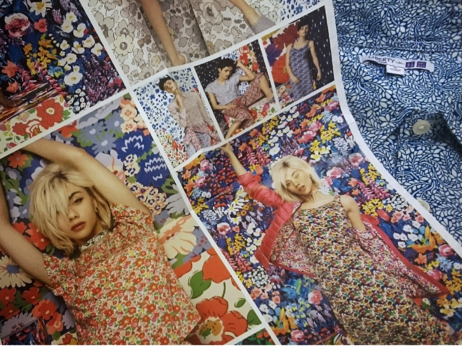 Liberty London for Uniqlo poster