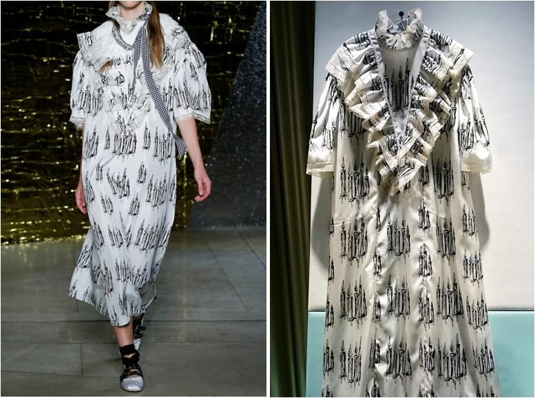 Miu Miu nightgown dress SS 2016