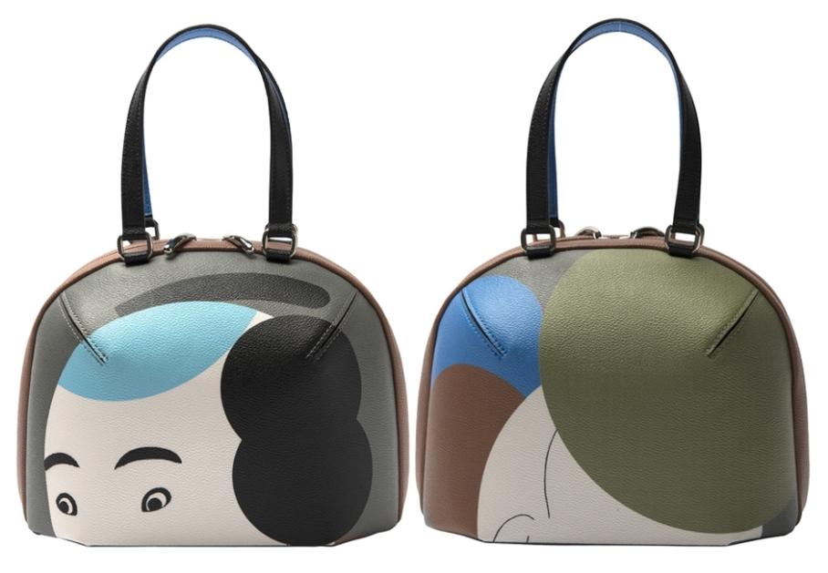 Issey Miyake X Ikko Tanaka bag