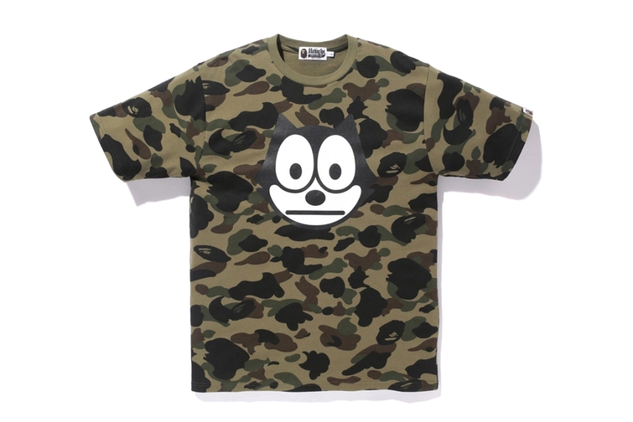 Felix the Cat X Bape T2