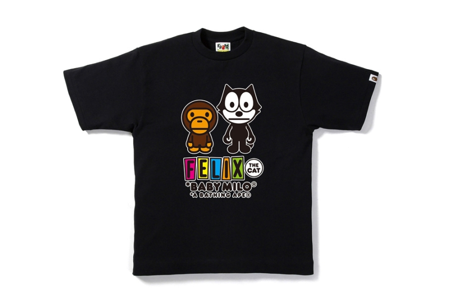 Felix the Cat X Bape T3