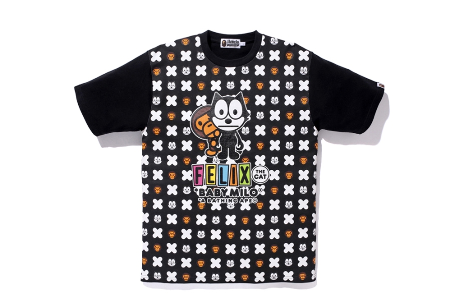 Felix the Cat X Bape T4