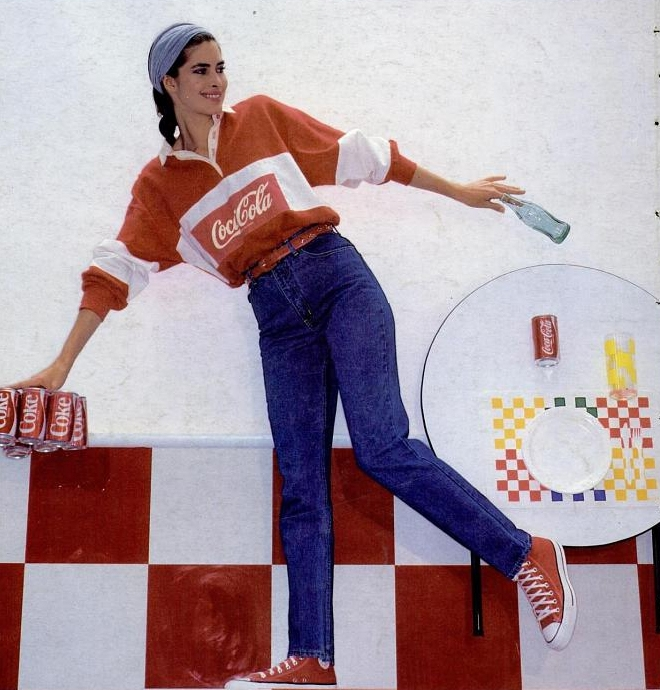 Coca Cola Clothing 80s