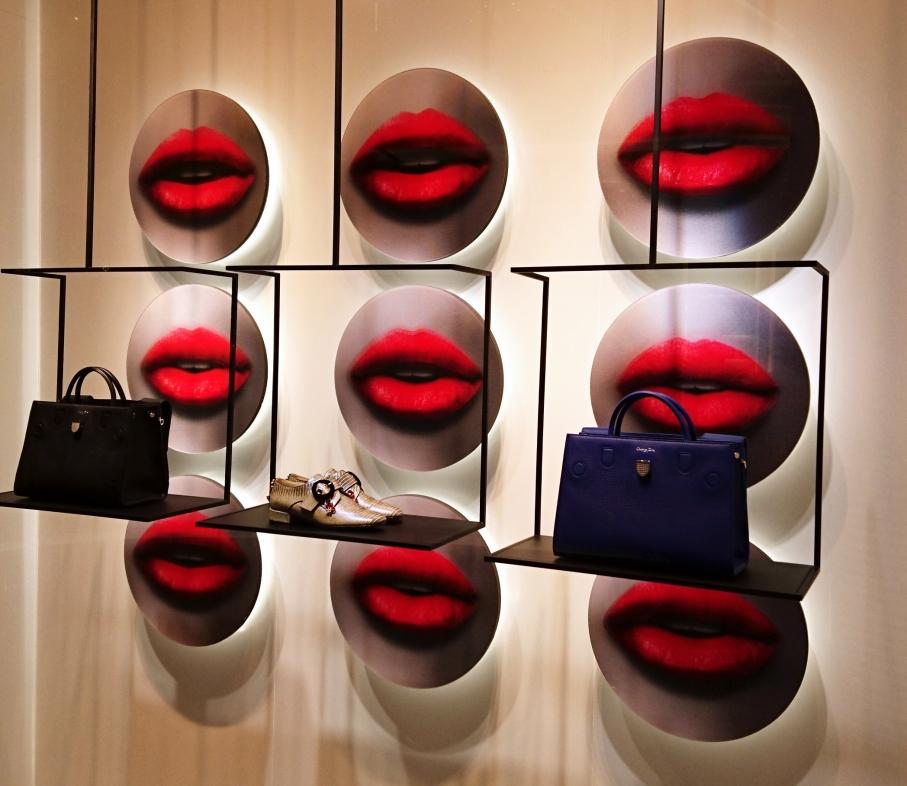 Dior AW 2016 window