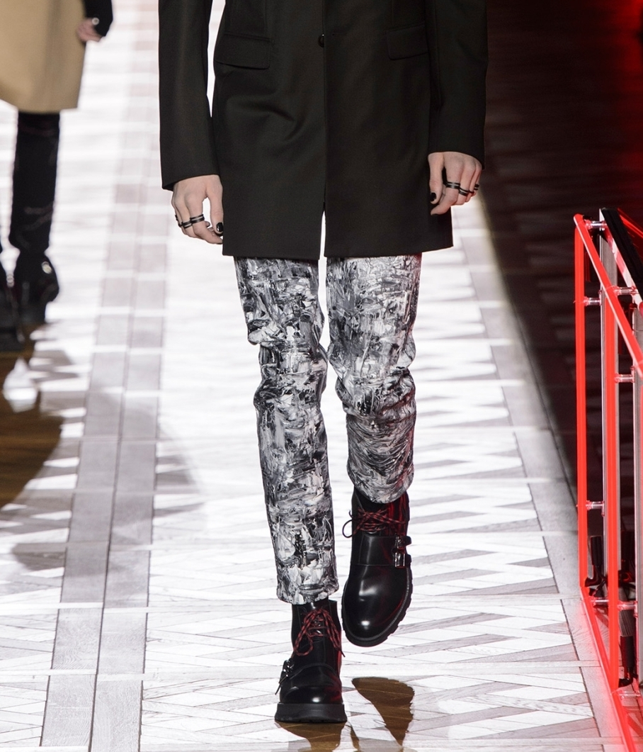 Dior Homme jeans AW 2016 look 36
