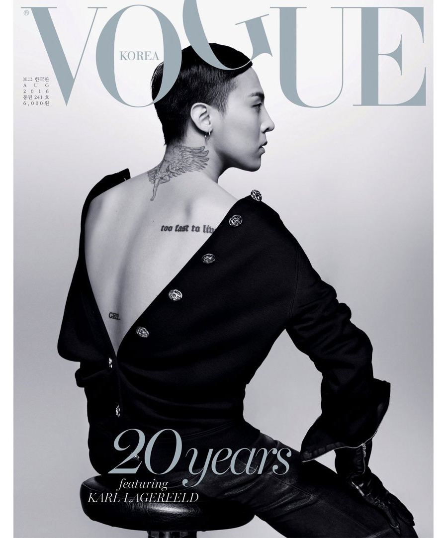 G Dragon Vogue Korea