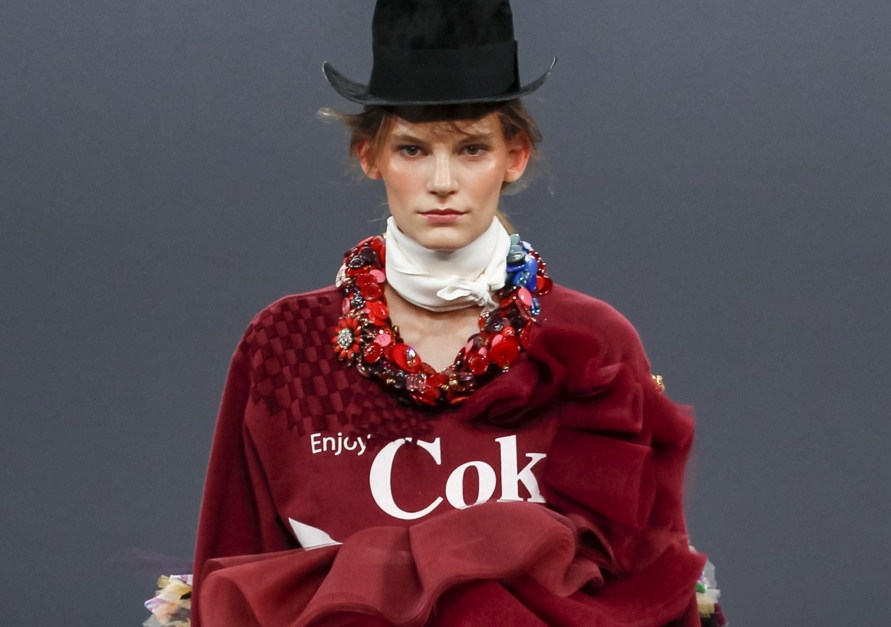 Viktor & Rolf Couture X Coke