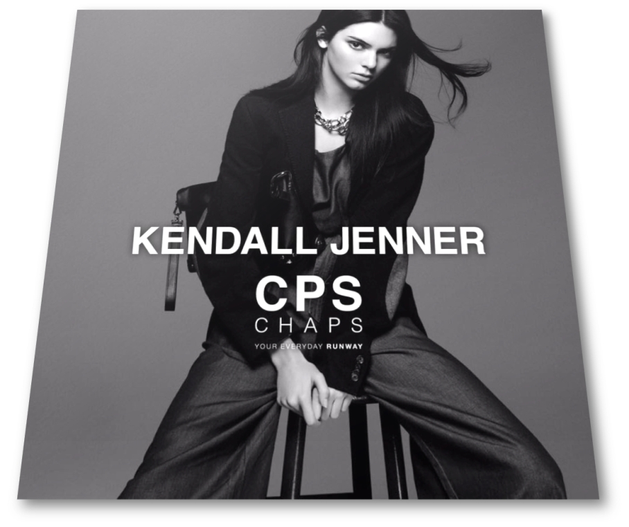 kendall Jenner for CPS SS 2016