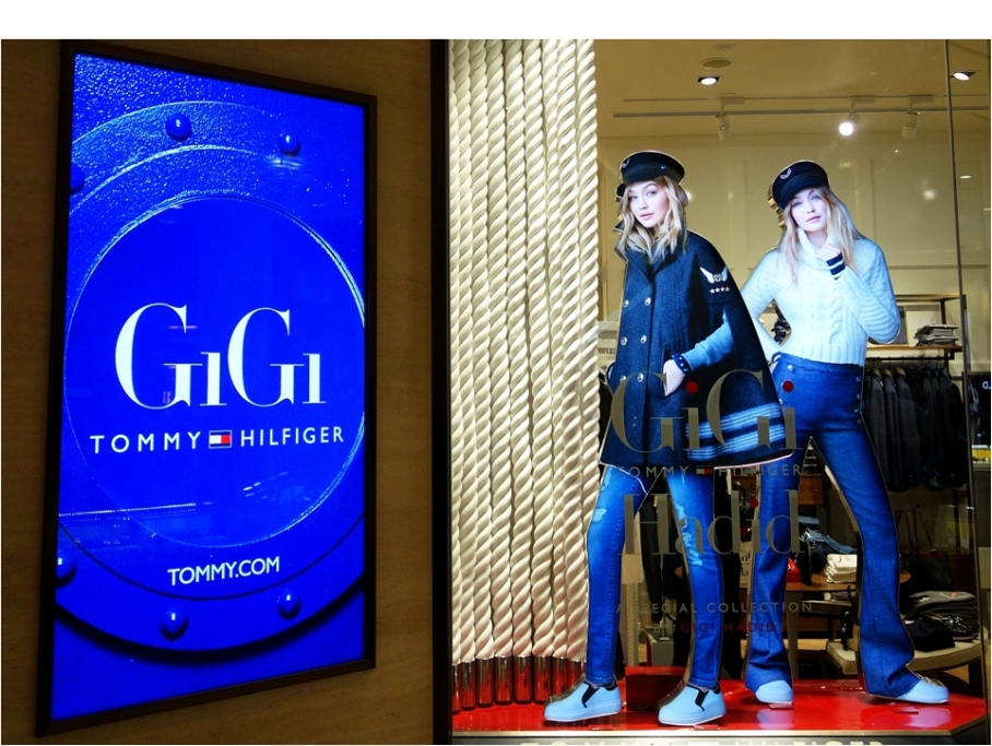 gigi-x-tommy-hilfiger-window