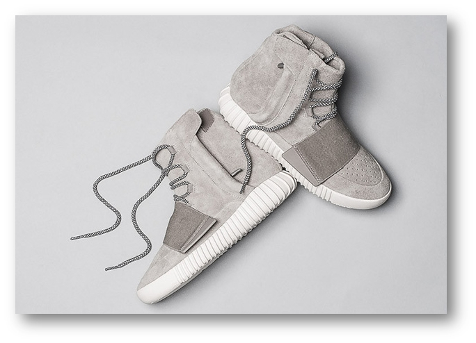87aba4ed186a6 The first sneaker launched by Adidas and Kanye West in spring last year   the Yeezy Boost 750. Photo  Sneakernews