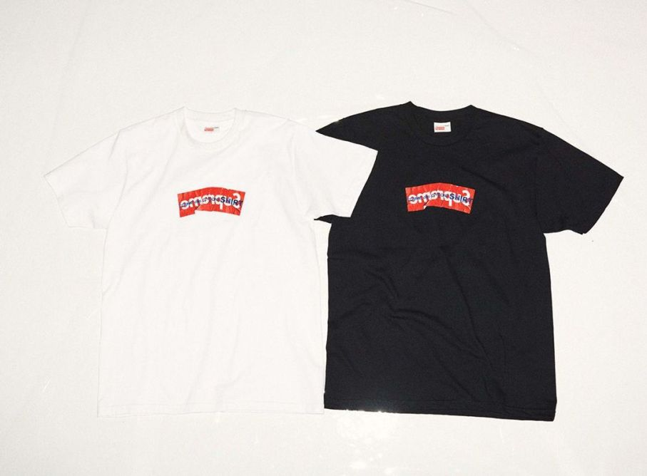 Supreme X CDG shirt tees