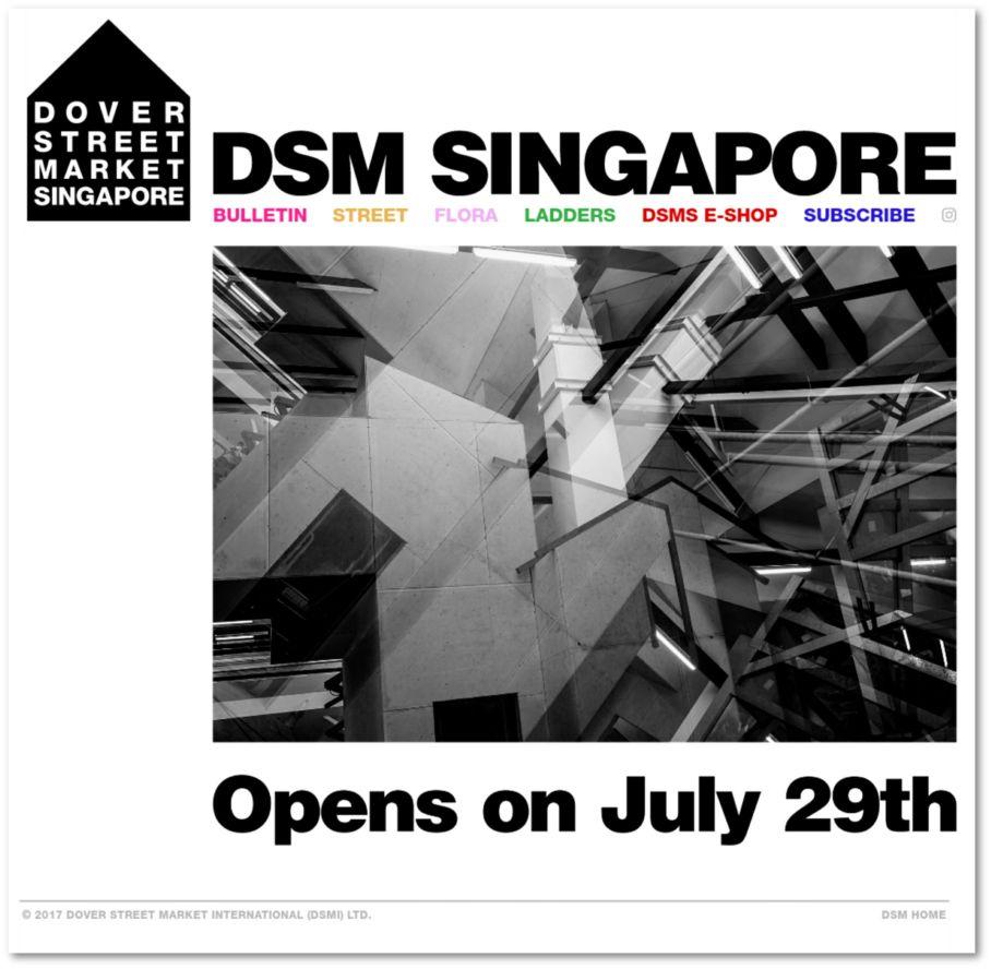 DSMS homepage 22 Jul 2015