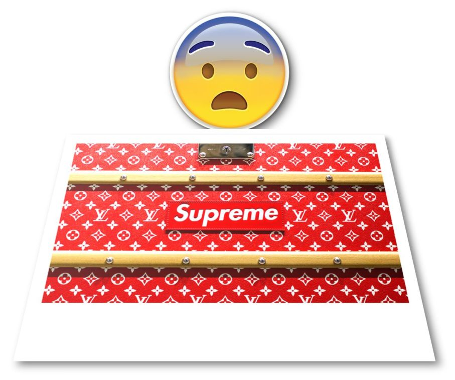 LV X Supreme pic for SOTD