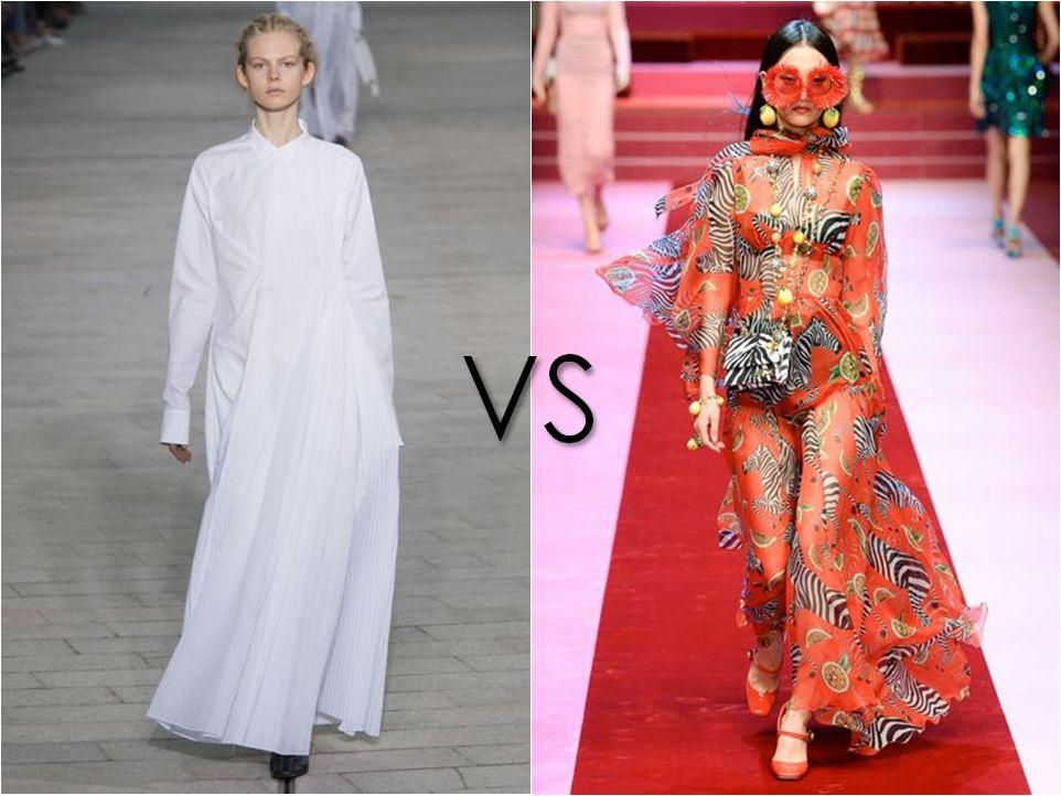 Jil Sander vs Dolce & Gabbana
