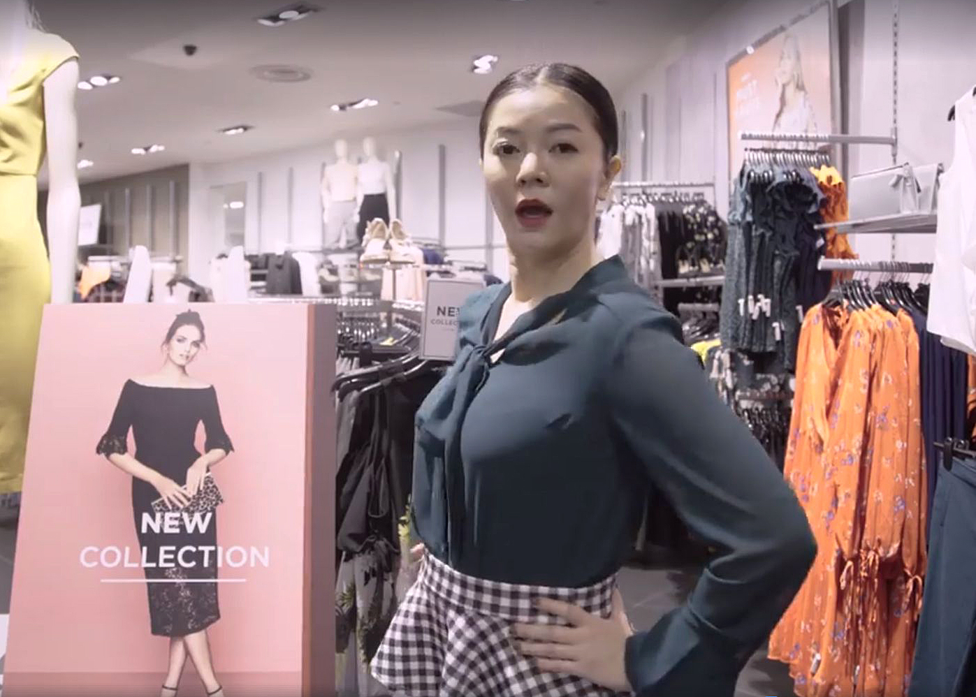 Michelle Chong for Dorothy Perkins