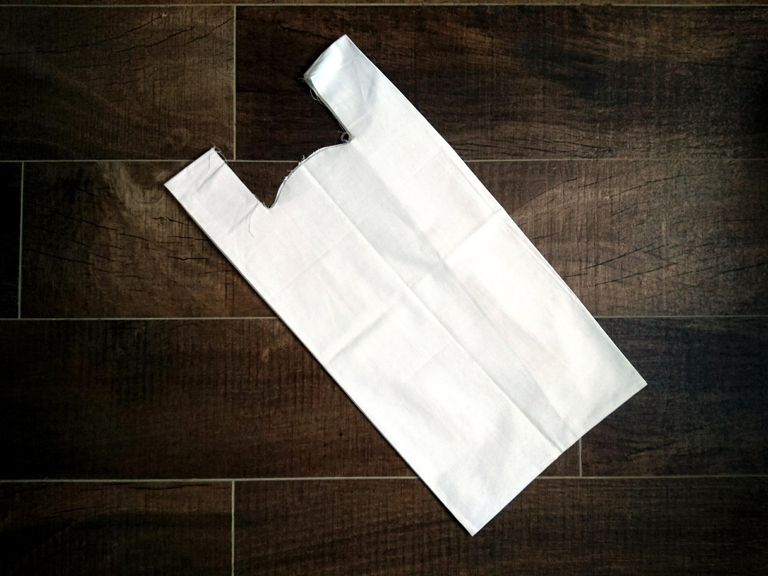 MMM cotton shopping bag