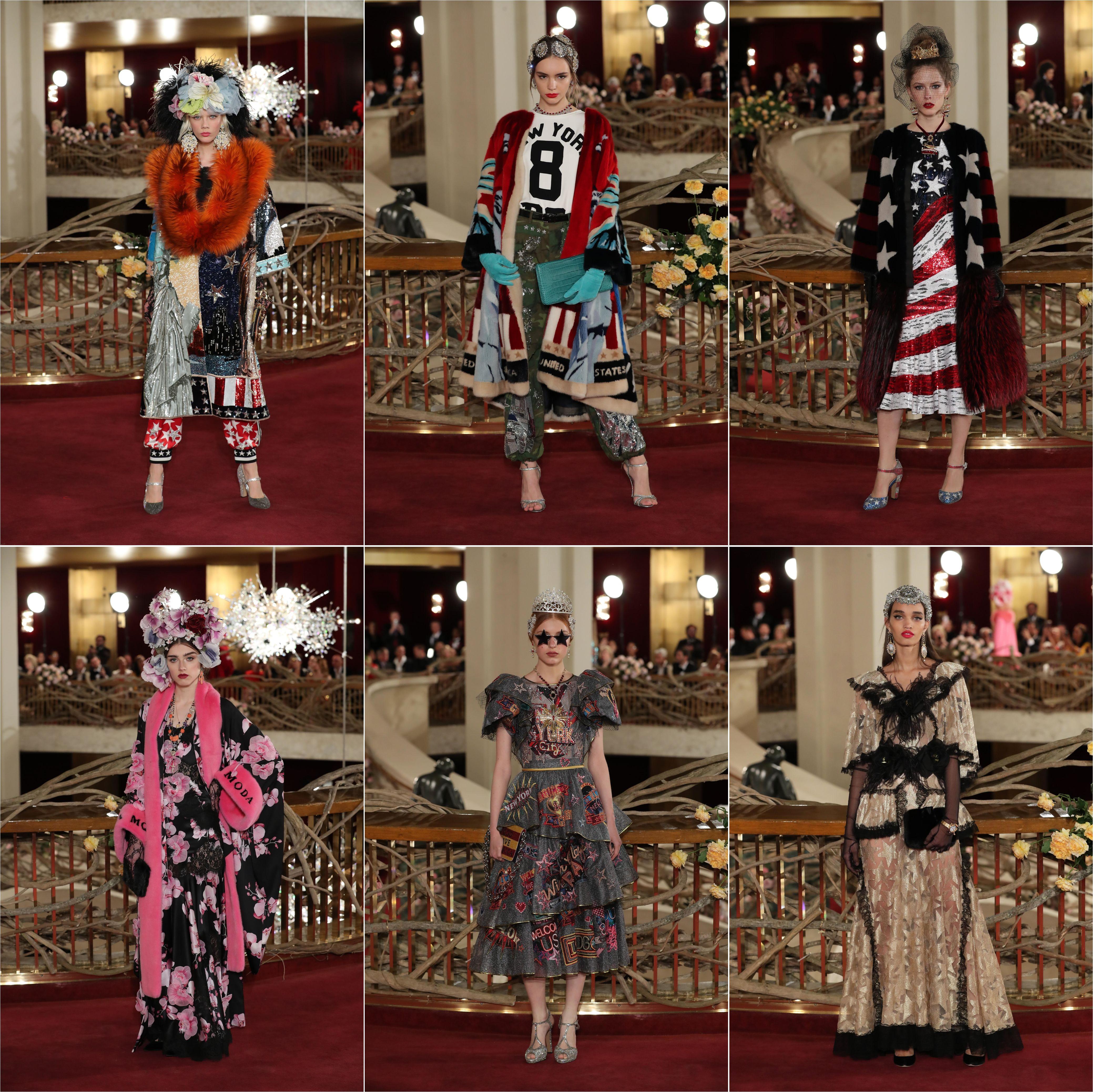 Dolce & Gabbana alta moda AW 2018