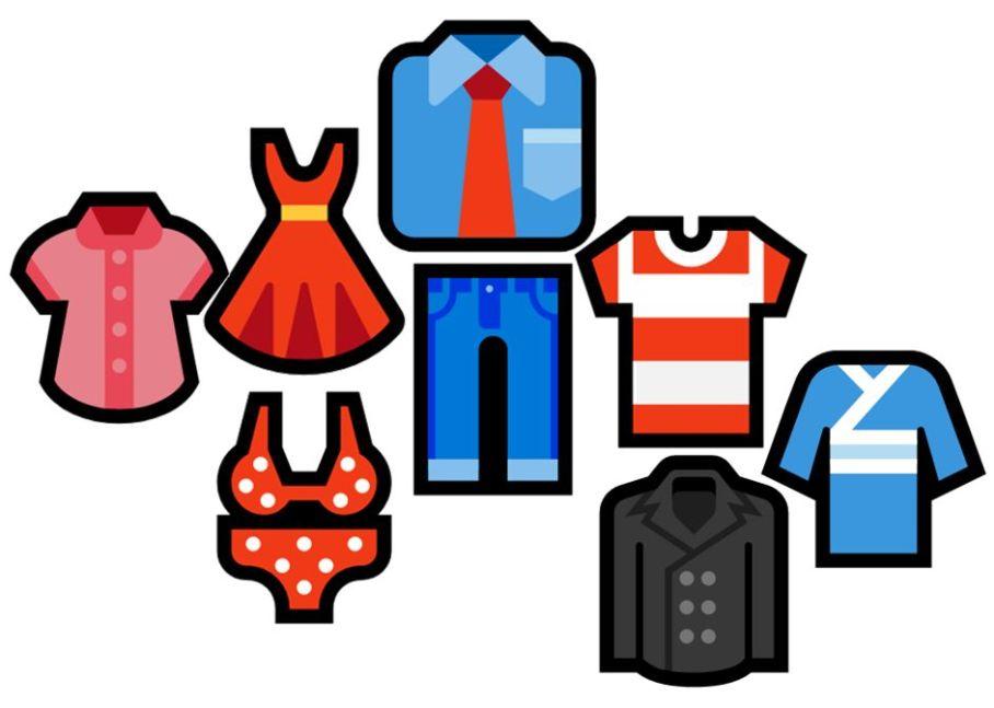 Fashion emojis