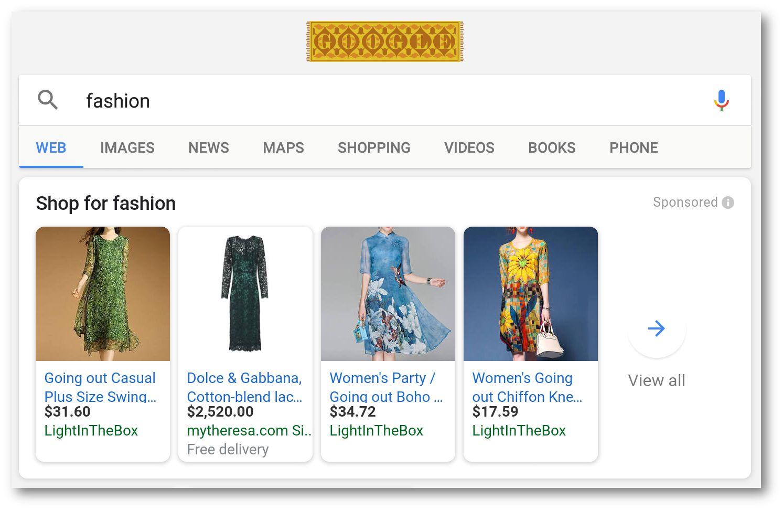 Fashion search Jul 2018