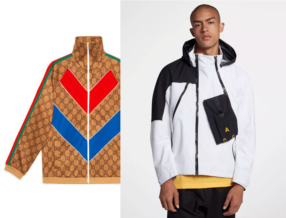 Gucci vs Nike