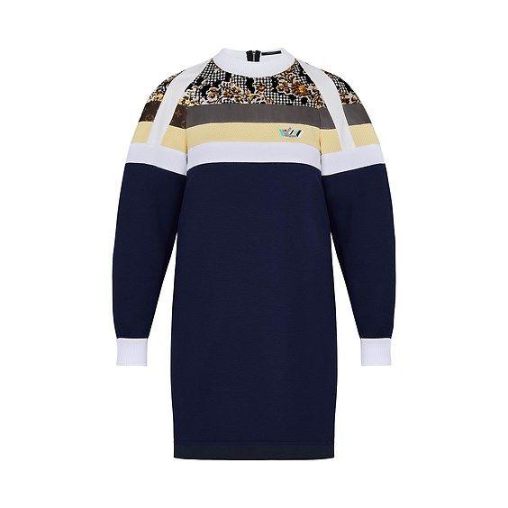 LV Sweatshirt dress