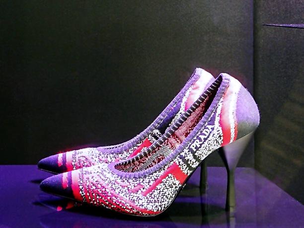 Prada knit heels