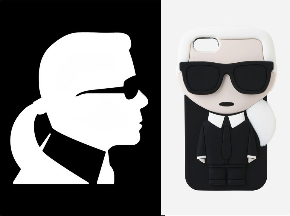 Karl Lagerfeld iconography