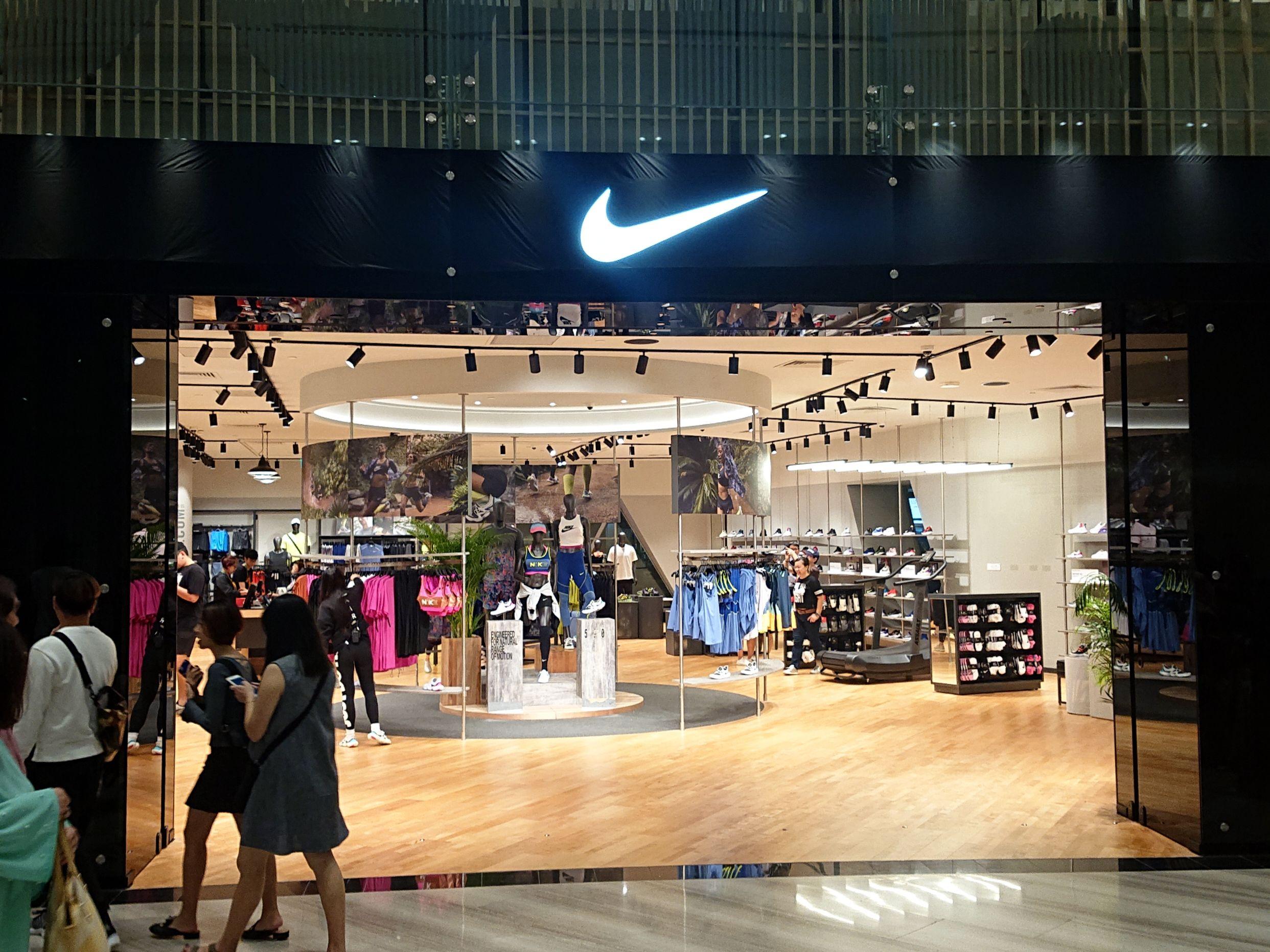 Nike store @ Jewel OP