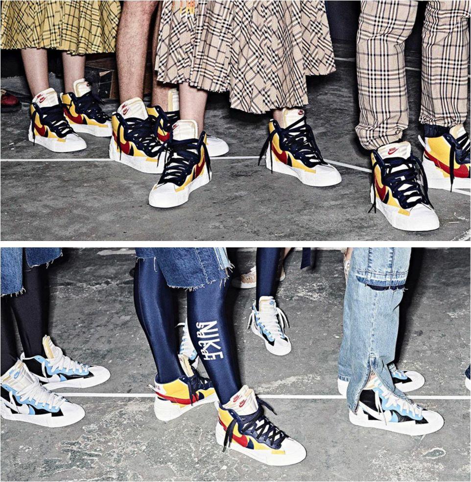 Sacai X Nike Blazer Mid SS 2019