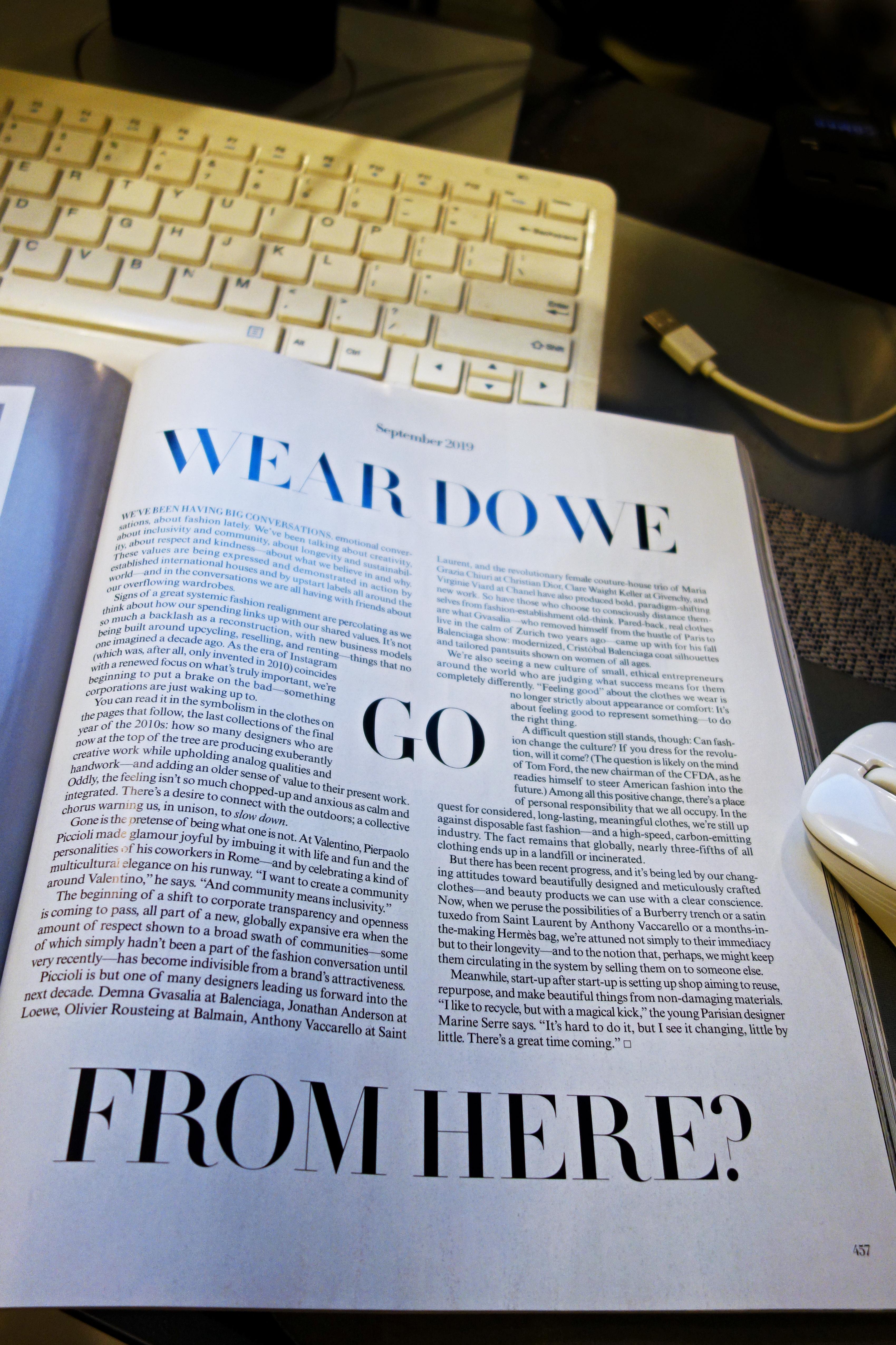 US Vogue September 2019 P4